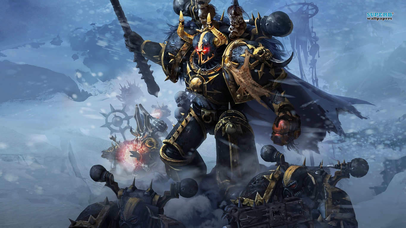 Warhammer 40000 space marine wallpaper game wallpapers 1366x768