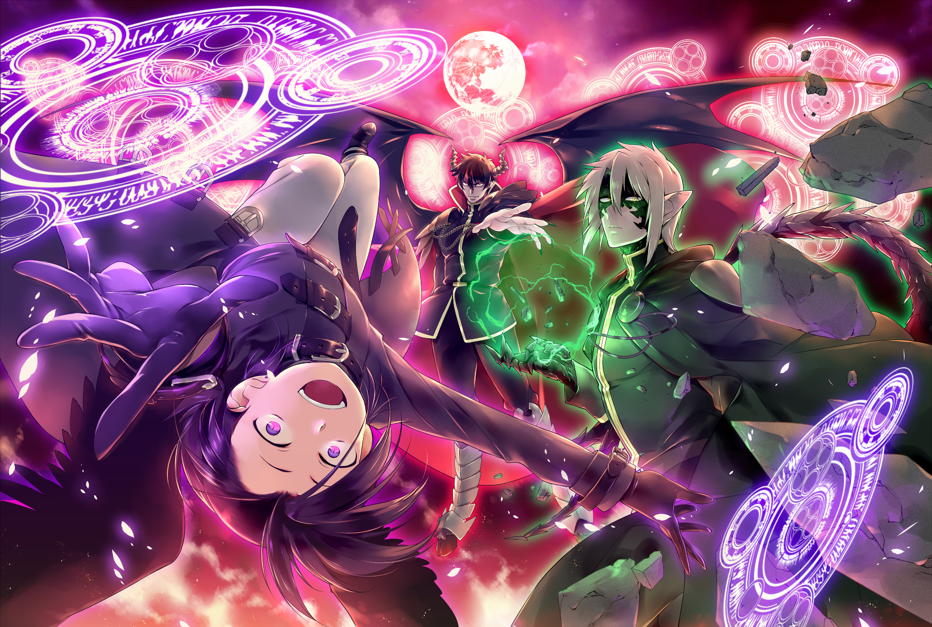 The Devil Is a Part Timer HD Wallpaper Background Image 1920x1292