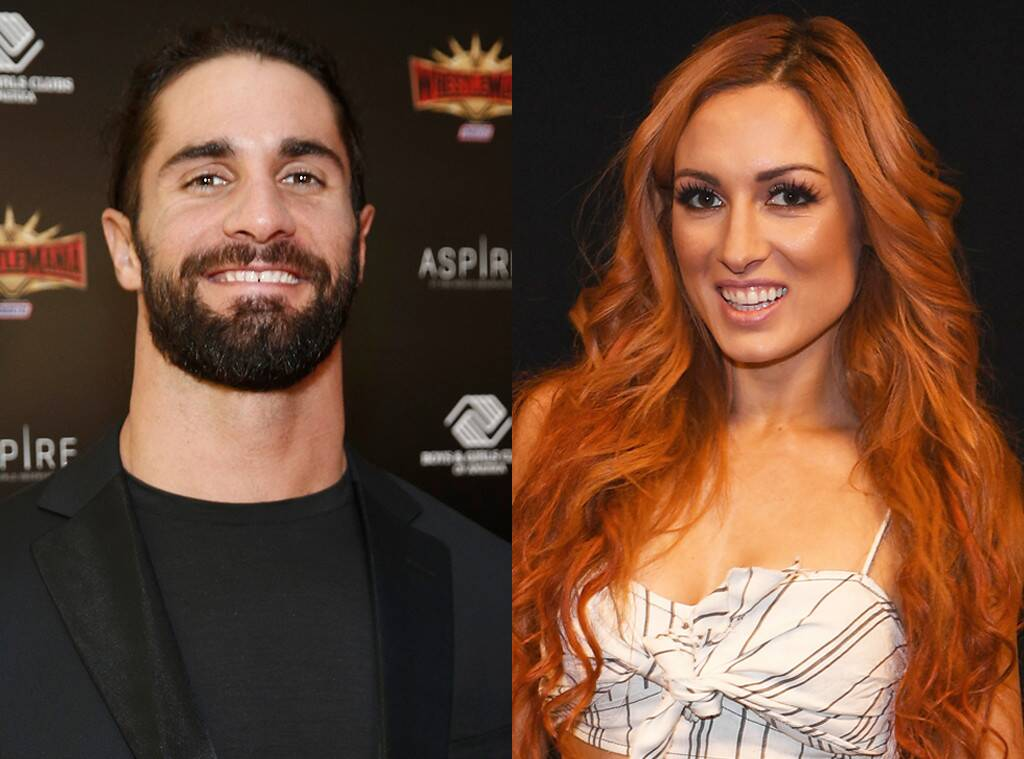 WWEs Becky Lynch and Seth Rollins Confirm Romance With PDA Packed 1024x759