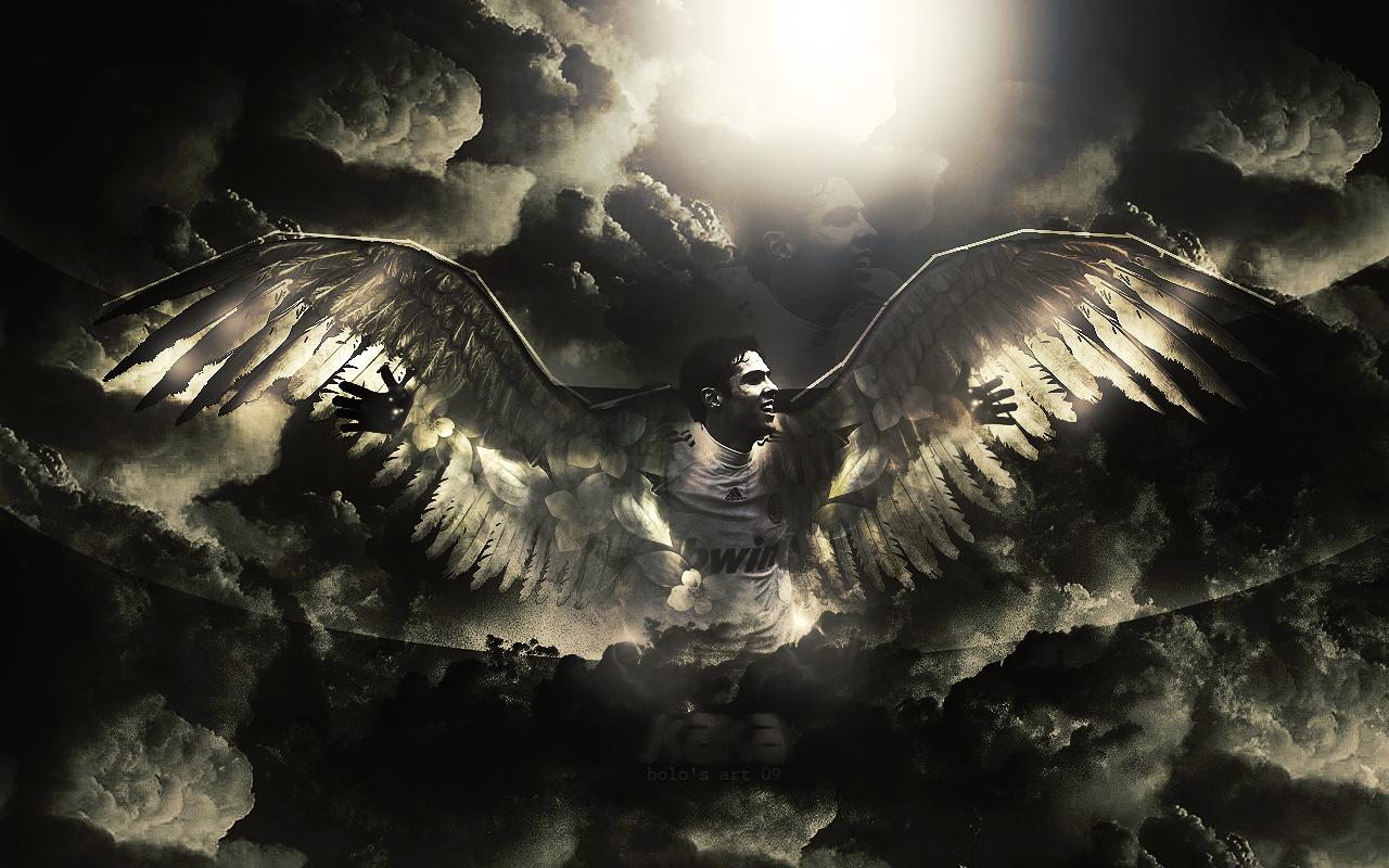 Pics Photos   Dark Fantasy Wallpaper Cool Fallen Angel 1280x800
