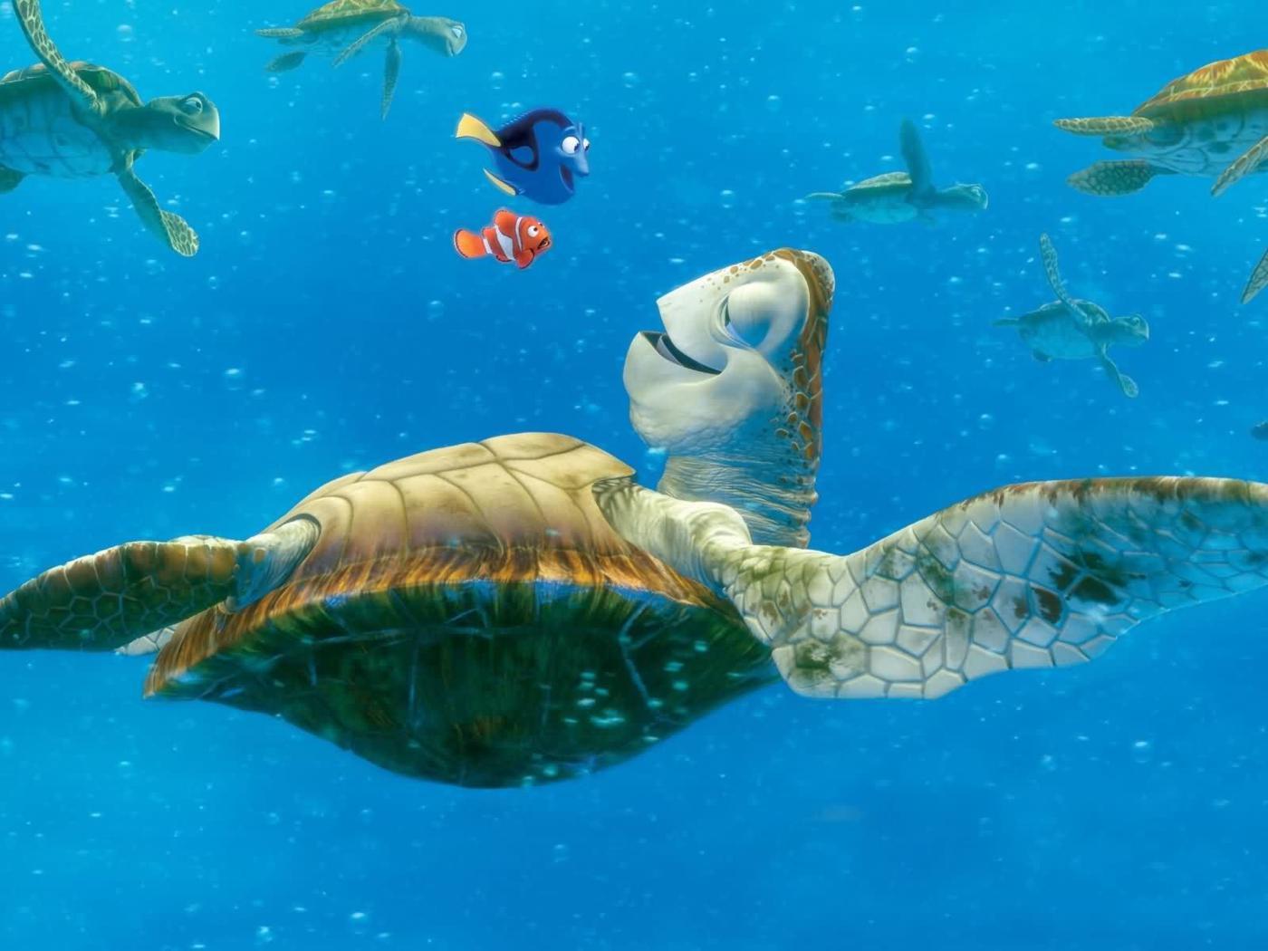 PC Wallpapers   Finding Nemo Movie Desktop Wallpaper Backgrounds 1400x1050
