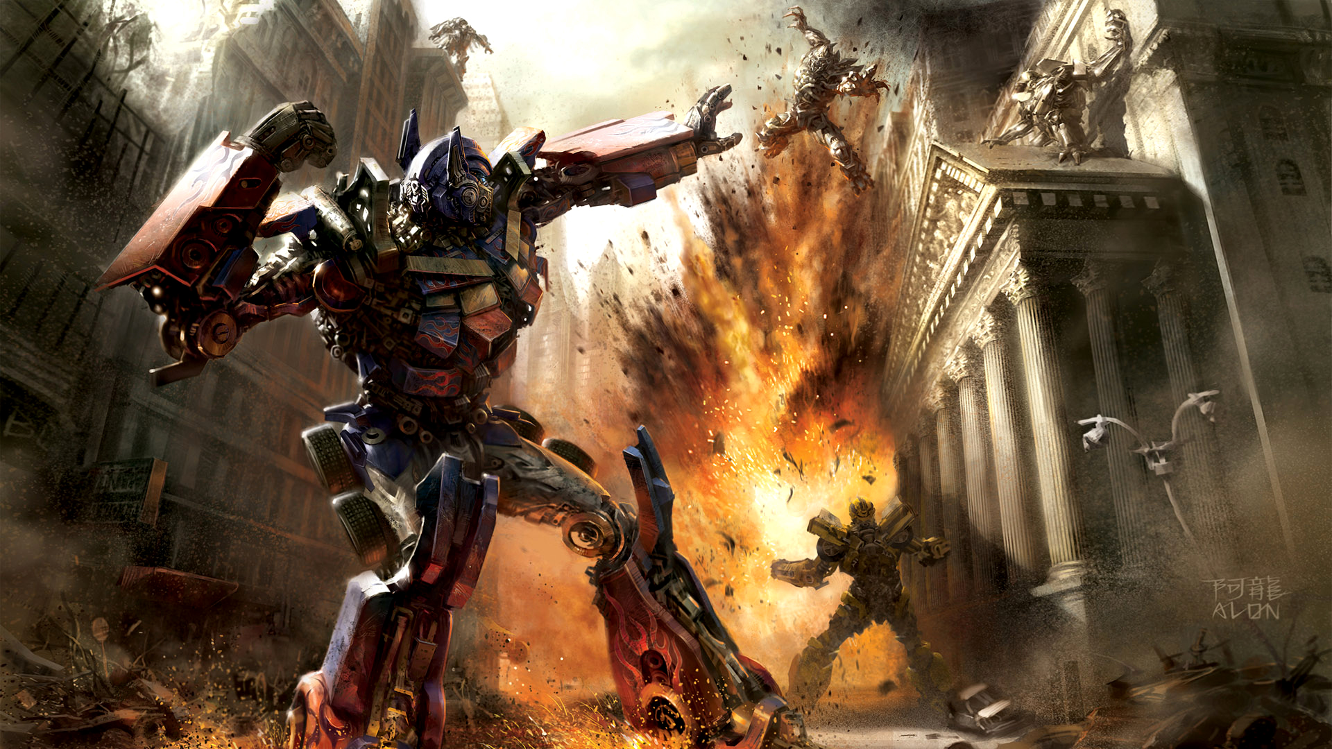 49 Transformers Hd Wallpapers 1080p On Wallpapersafari