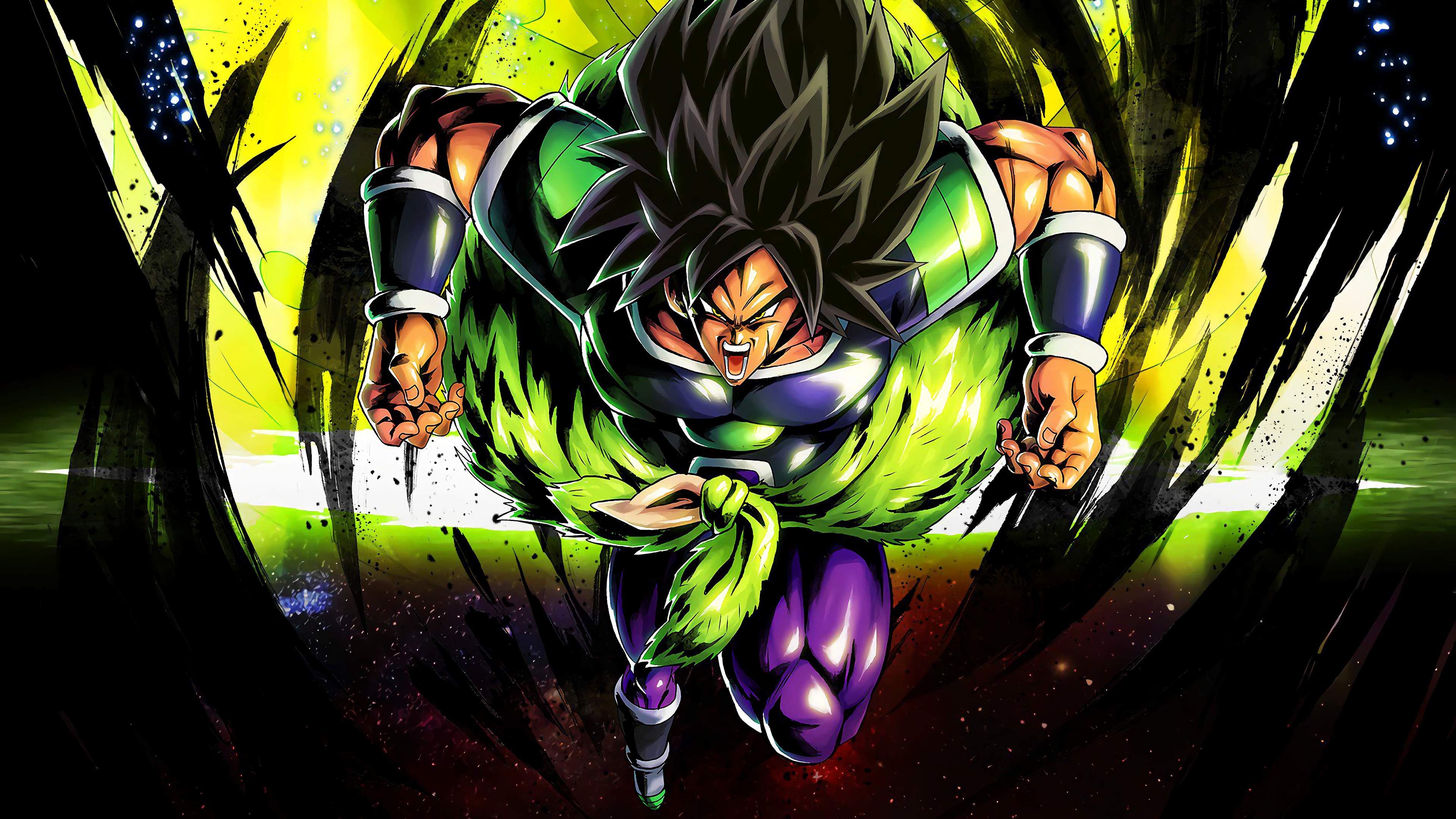 Free Download 4k Tapete Dragon Ball Super Broly Wallpaper 4k