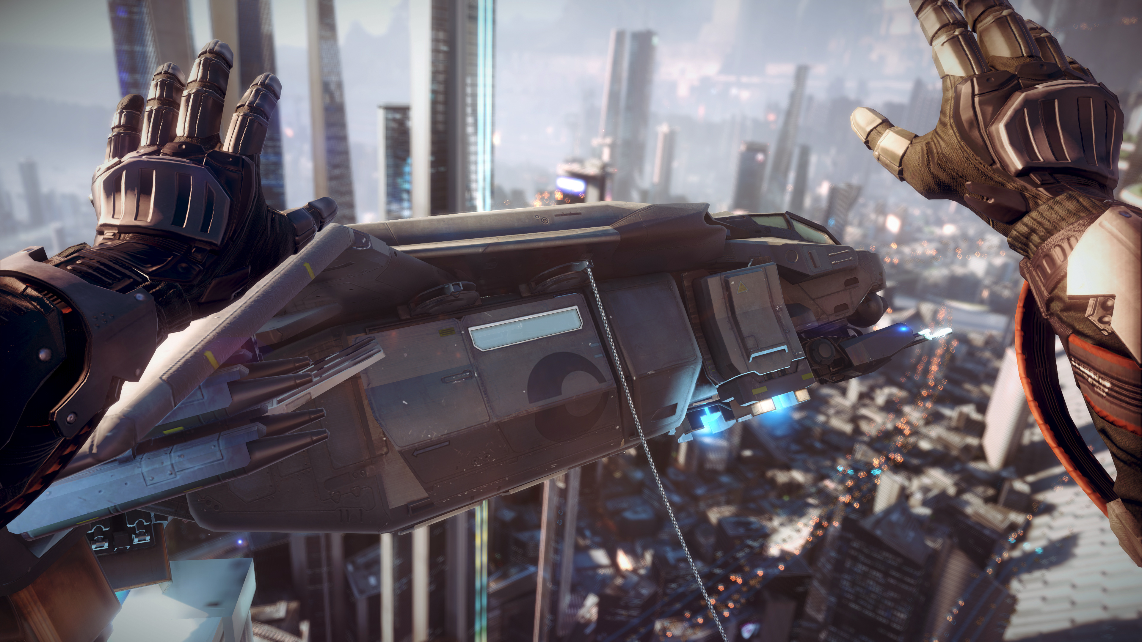 Shadow Fall Point To PS4 Running At 4K Resolution [UPDATE]   Forbes 3840x2160