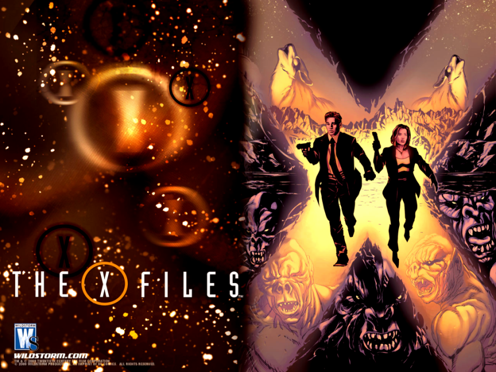 1024x768 The X Files desktop PC and Mac wallpaper 1024x768