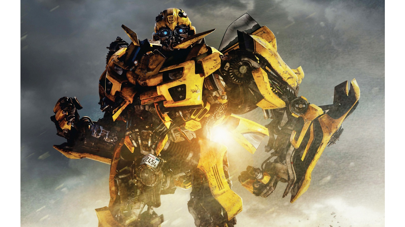 Transformers 4 Bumblebee Photo Wallpaper Hd Resolution 1366x768