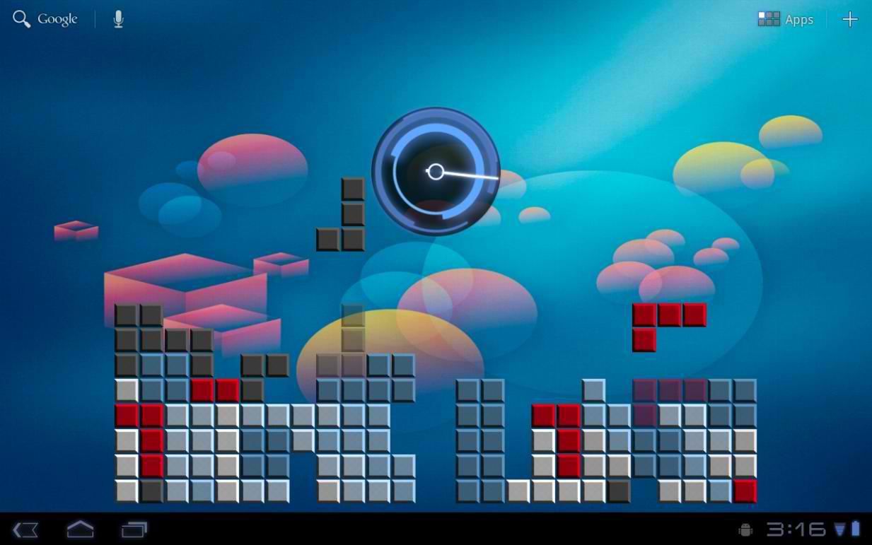 Align Your Squares With the Fully Playable Blocks Live Wallpaper 1233x771