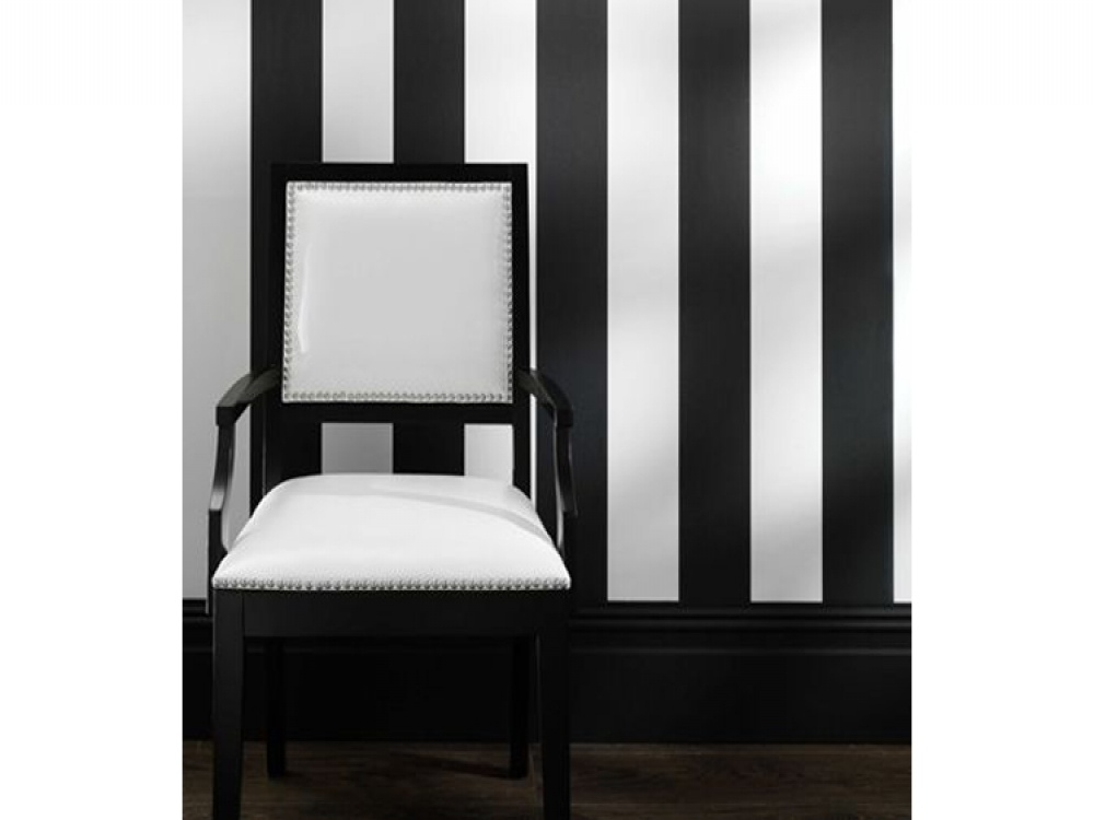 Bravo Black White Striped Wallpaper Wallpaper from FADS 1000x750