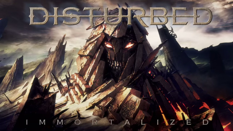 Immortalized   Disturbed [YouTube Official Lyric Video] Zumic 750x422