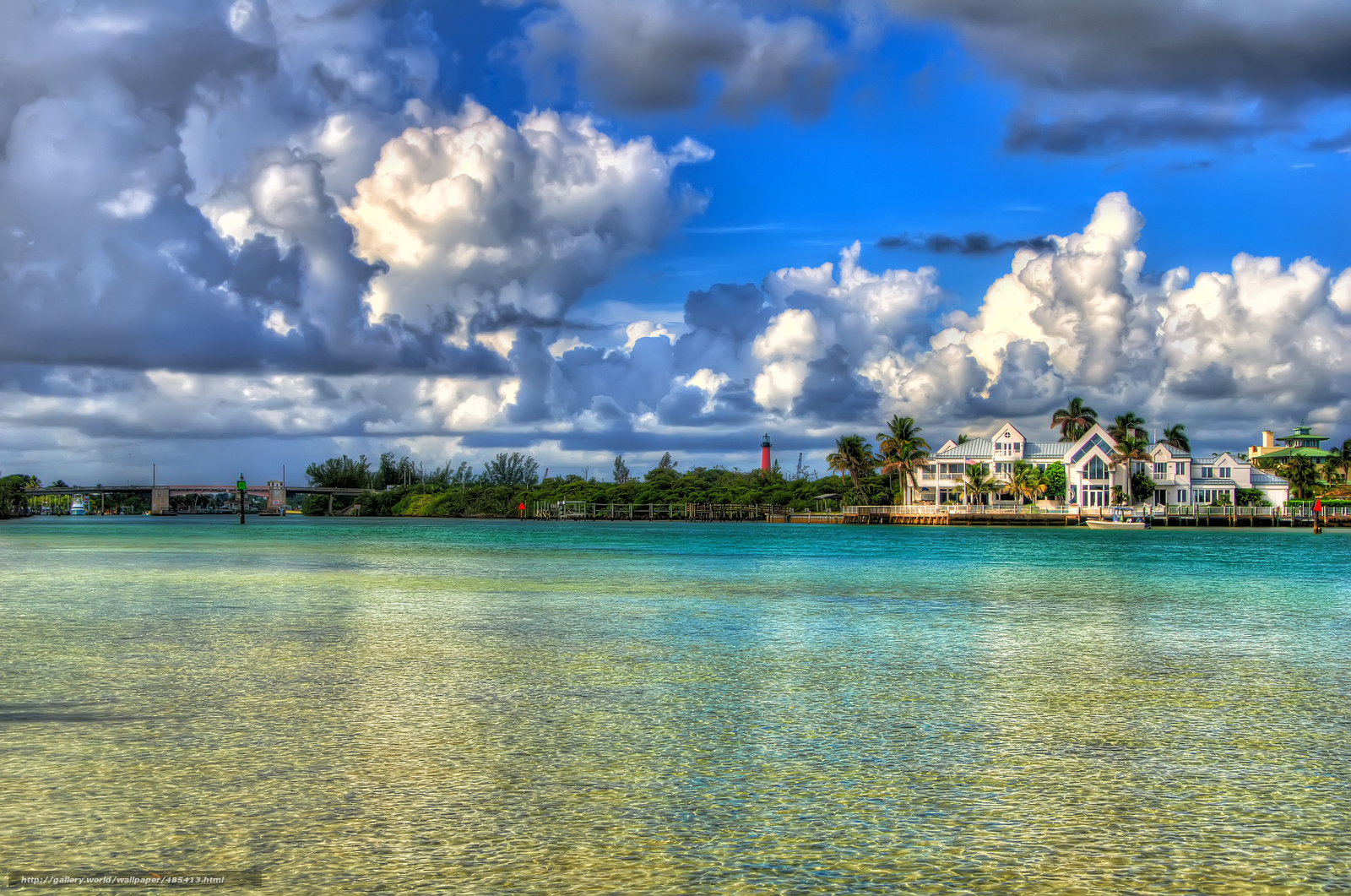 wallpaper jupiter florida Florida water desktop wallpaper 1600x1061