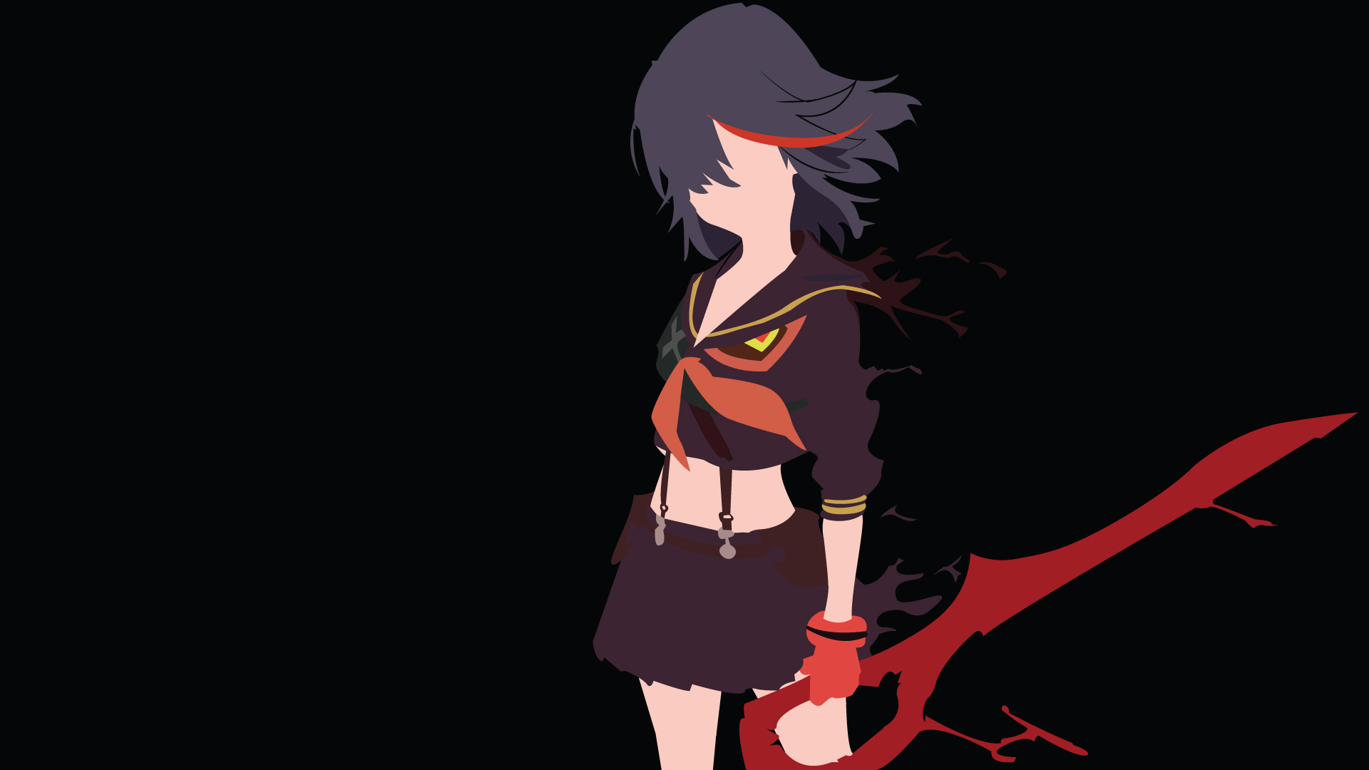 49 Kill La Kill Iphone Wallpaper On Wallpapersafari