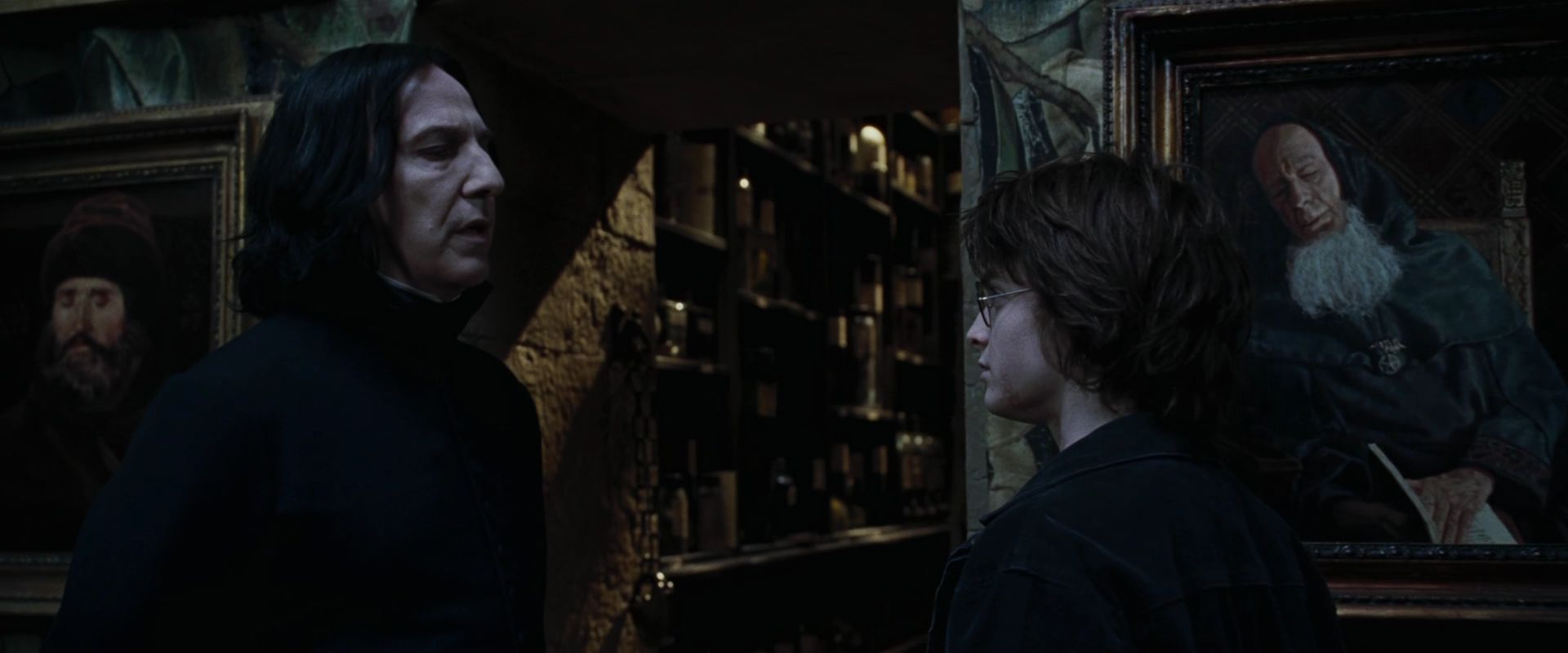 Harry Potter and the Goblet of Fire BluRay   Severus Snape Image 1920x800