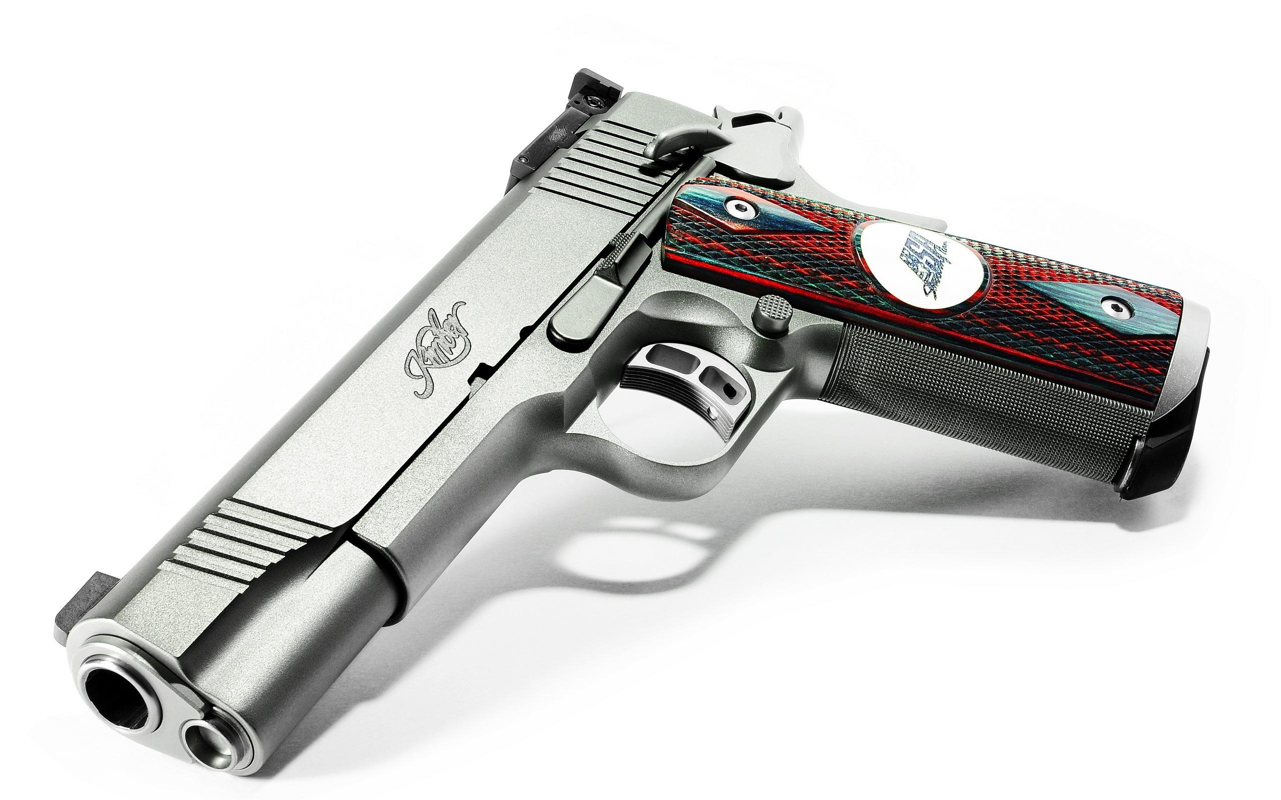 Kimber pistol wallpaper 20548 2560x1600