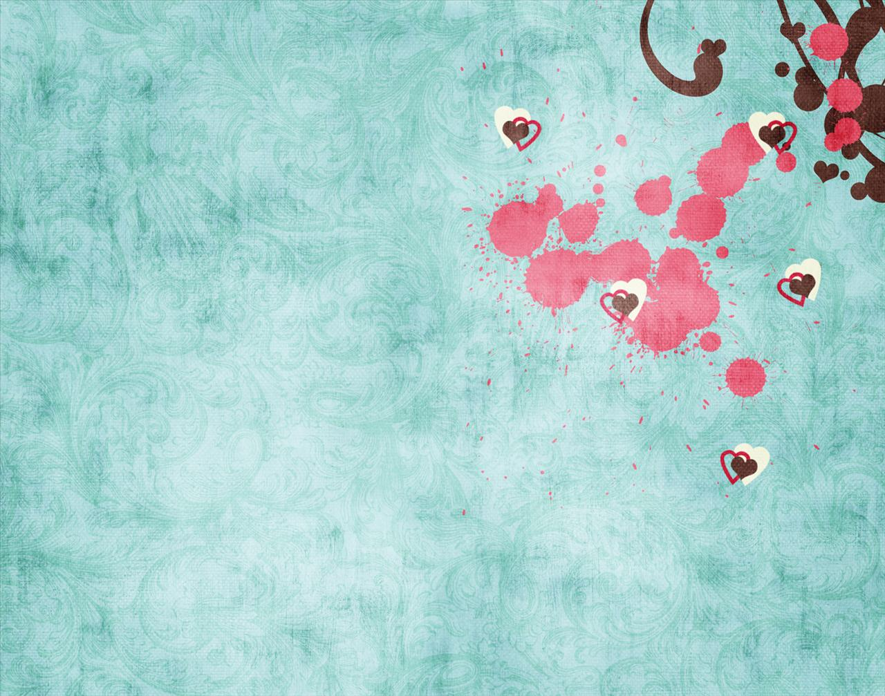 Black and White Wallpapers Turquoise Swirl Lovely Heart Wallpaper 1280x1007