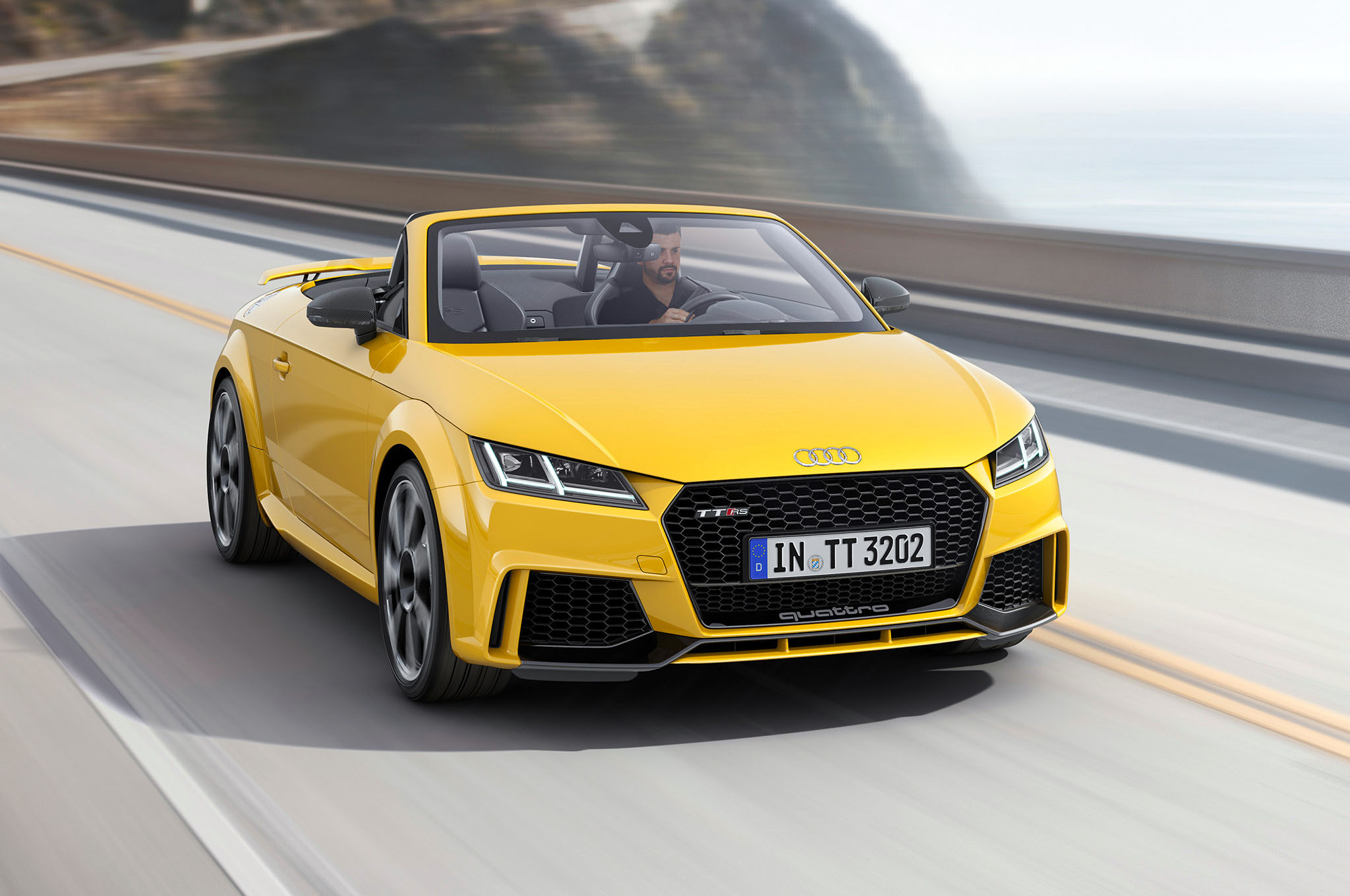 2017 Audi TT RS Convertible Widescreen Wallpaper | HD Car ...