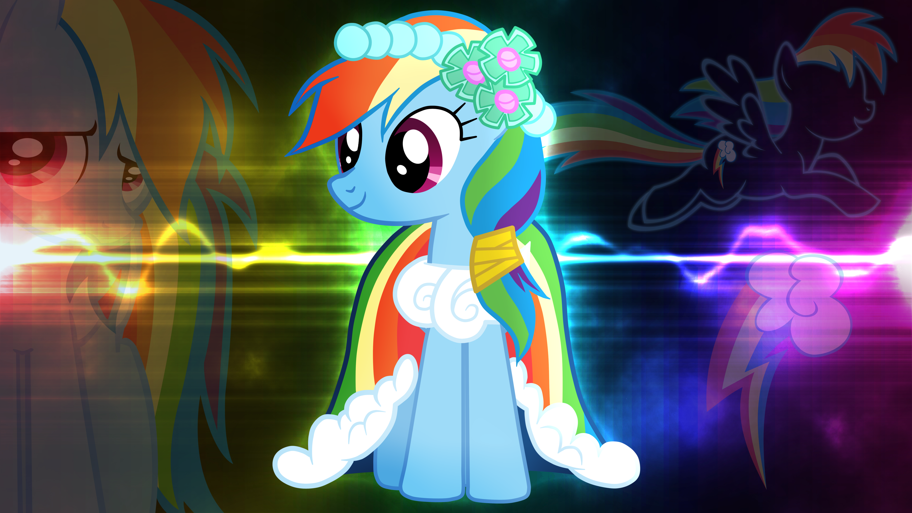 Cute trans rainbow dash spread out and fucked 7