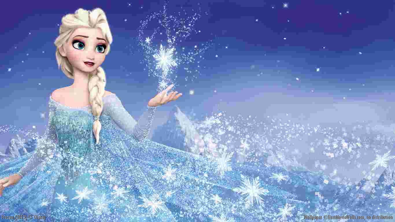Frozen Disney Movie Wallpaper Elsa Hd   1366x768 iWallHD   Wallpaper 1366x768