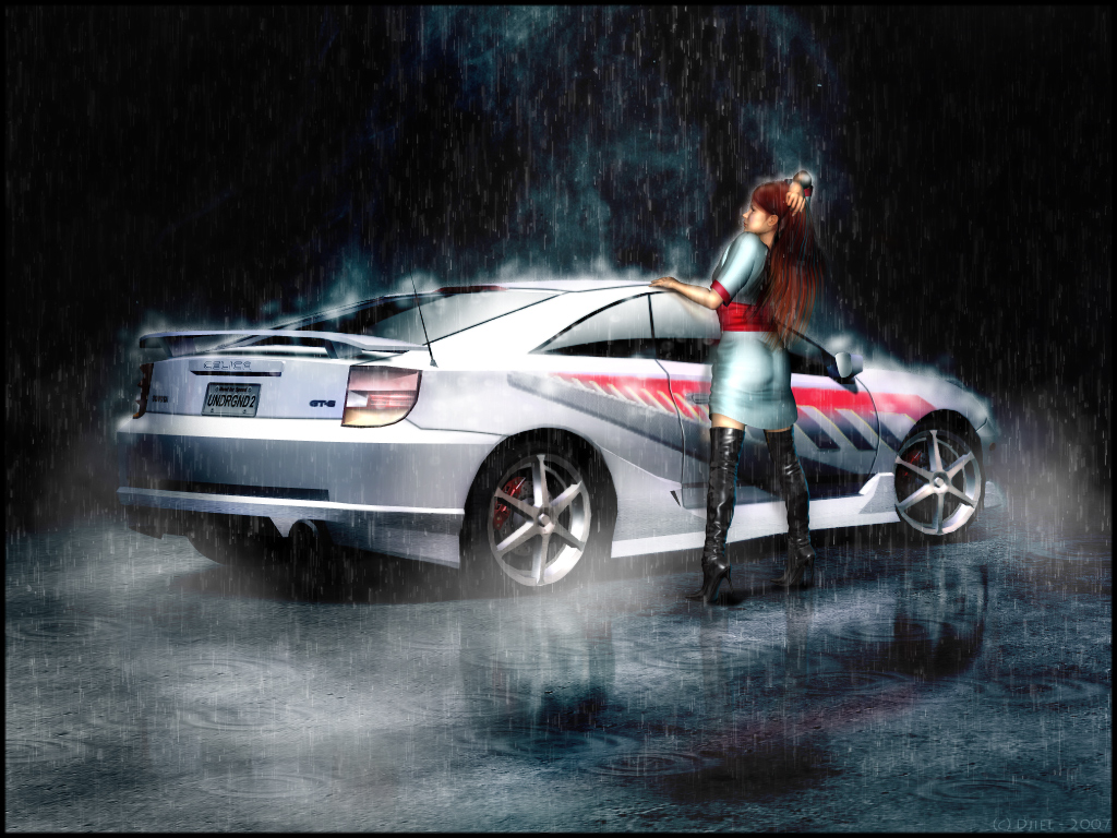 Wallpapers on Toyota Celica 1024x768