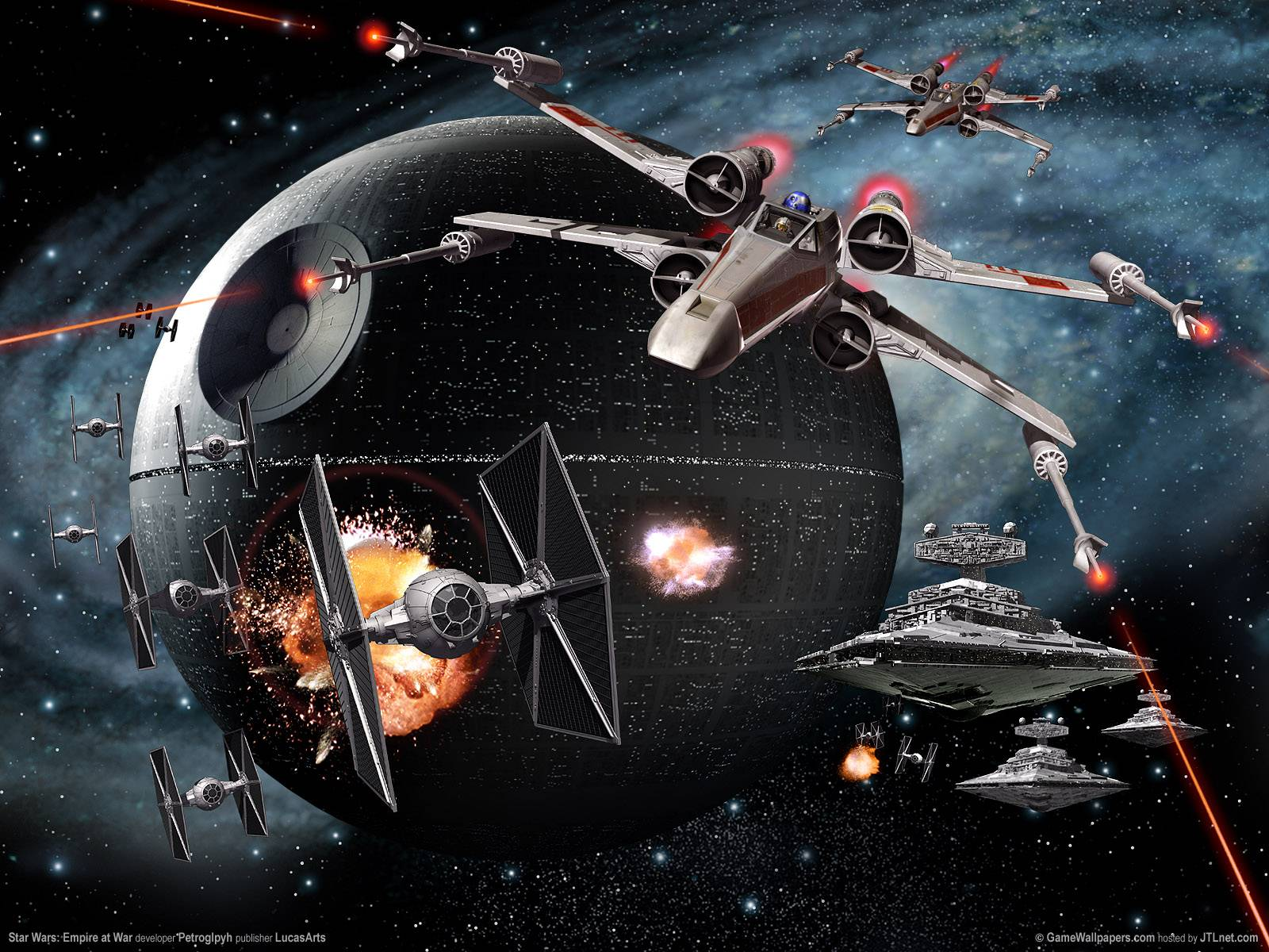 star   Star wars Wallpaper 1600x1200