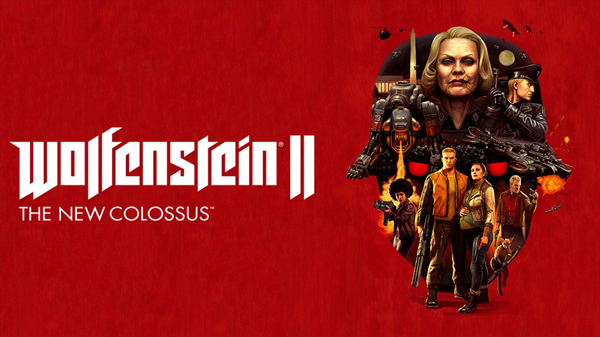 Free Download Amazoncom Wolfenstein Ii The New Colossus Nintendo