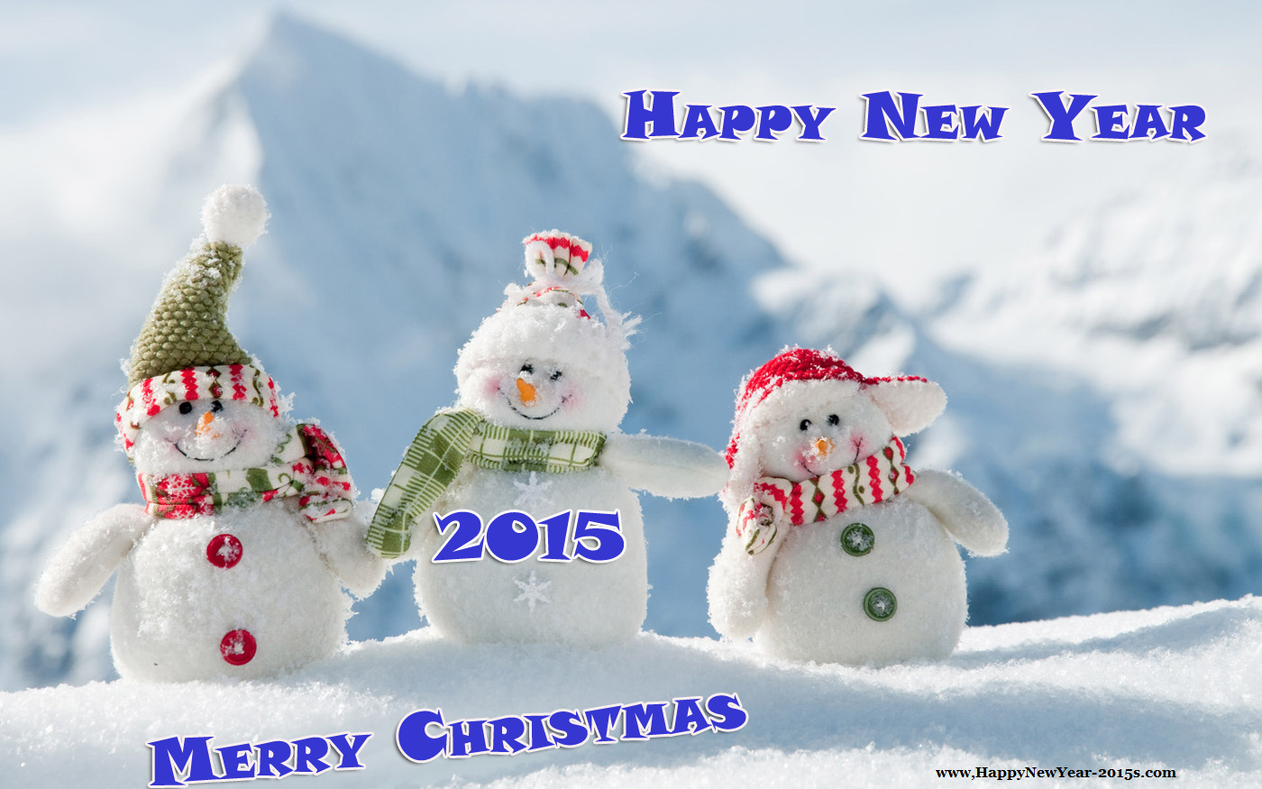 Merry Christmas And Happy New Year 2015 4k Hd Desktop: Merry Christmas Wallpaper 2015