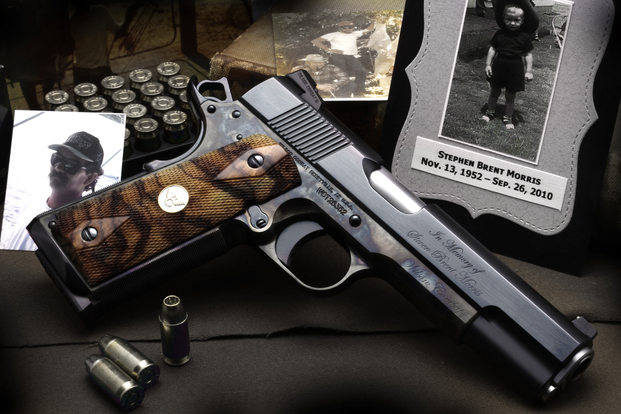 amazing tribute 1911 dedicated to a lost loved one from Wilson Combat 1280x853