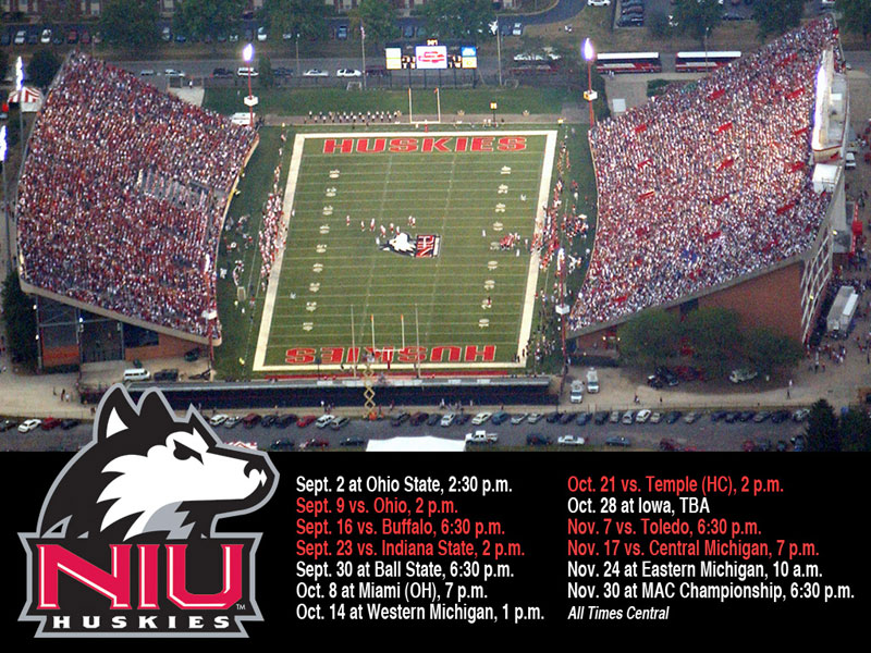 NIUHUSKIESCOM   The Northern Illinois Official Athletic Site 800x600