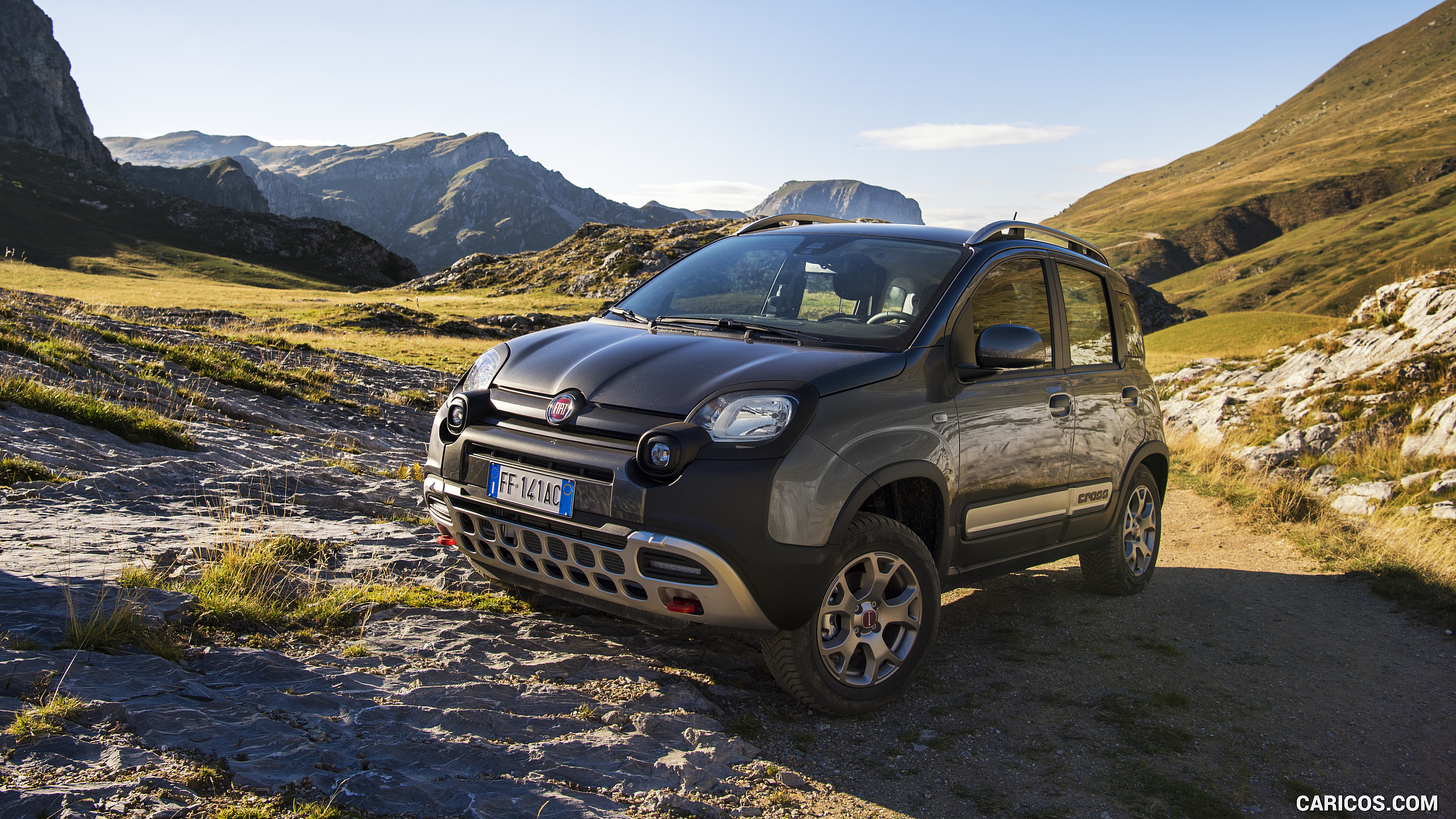 2017 Fiat Panda Cross   Off Road HD Wallpaper 19 2560x1440