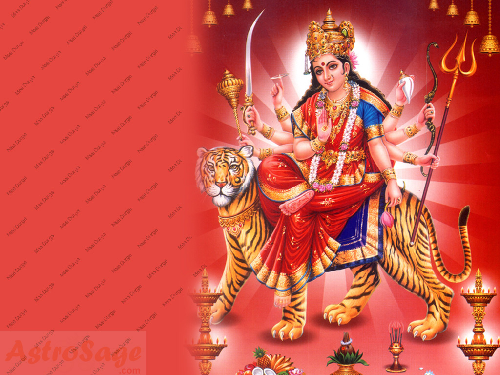 Durga Wallpapers Wallpaper of Durga Maa 1024x768