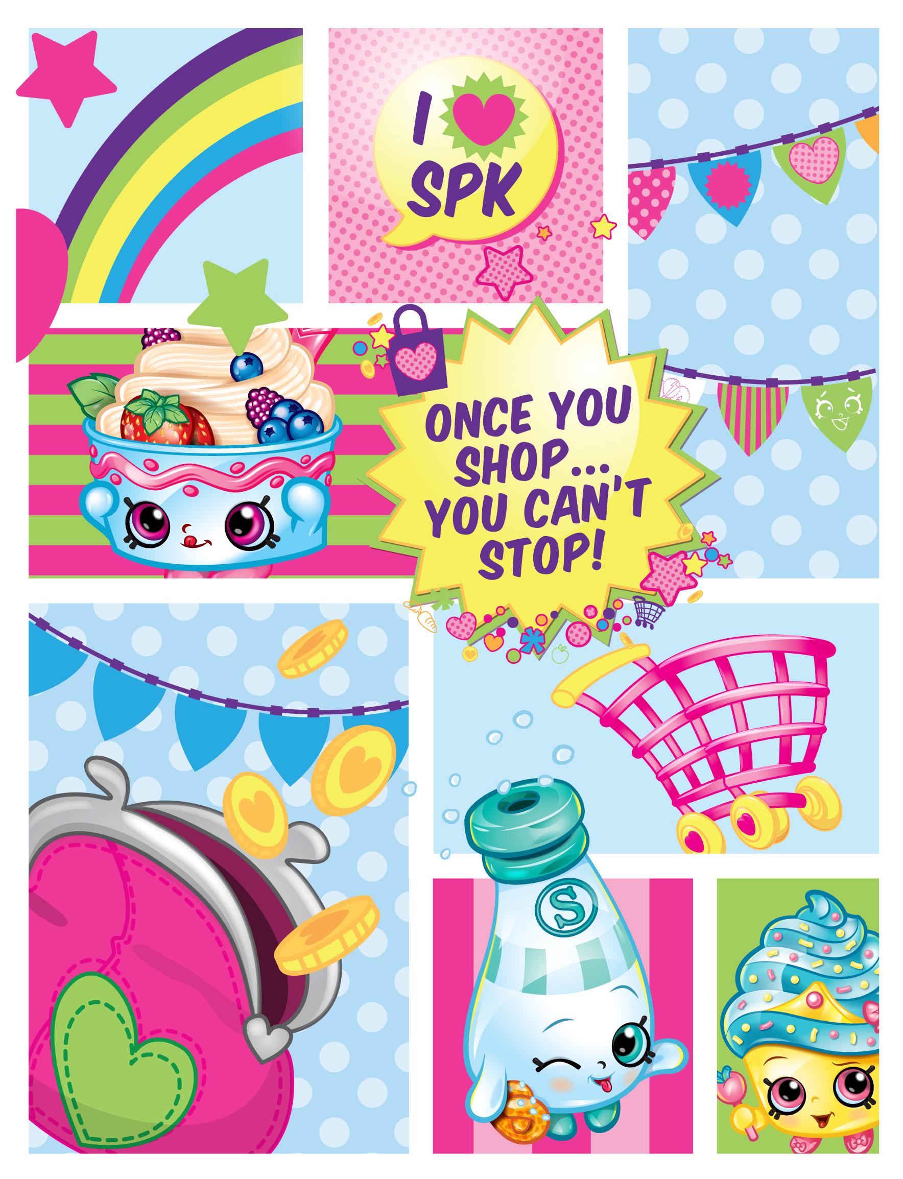 Shopkins wallpaper free wallpapersafari - Shopkins wallpaper ...