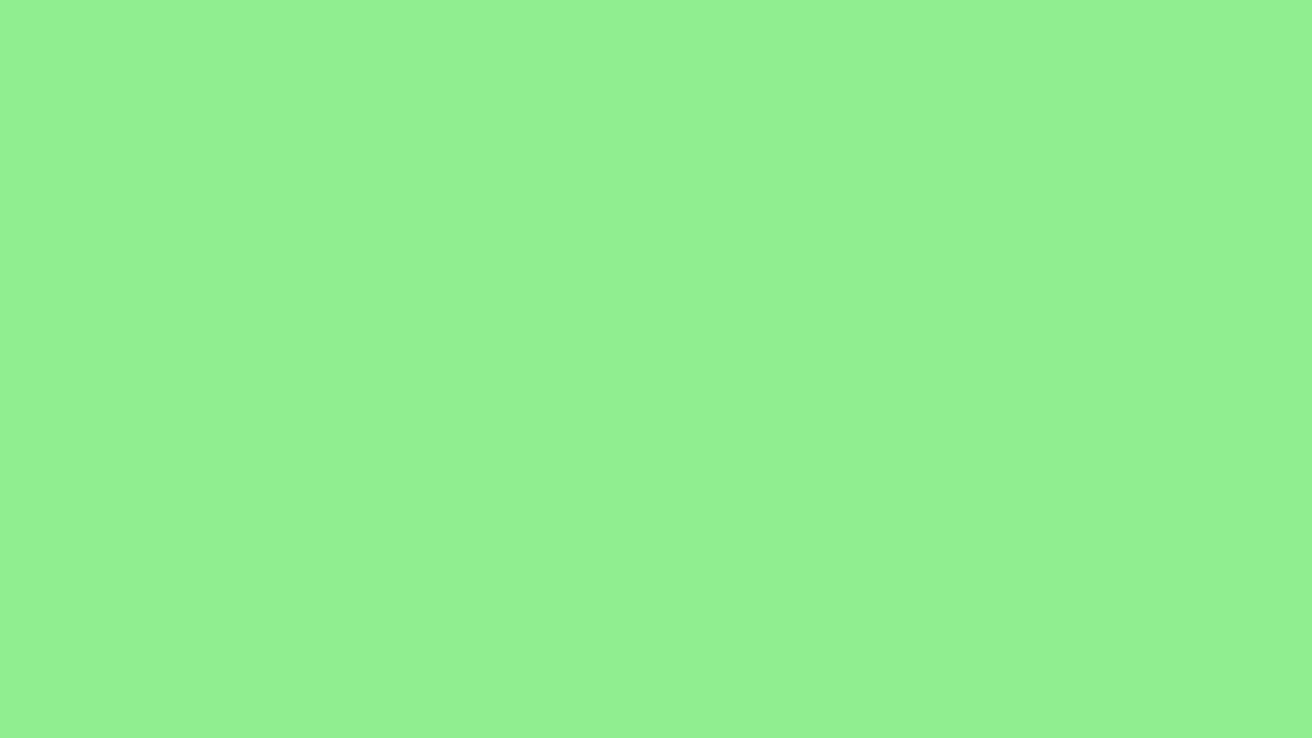 2560x1440 resolution Light Green solid color background view and 2560x1440