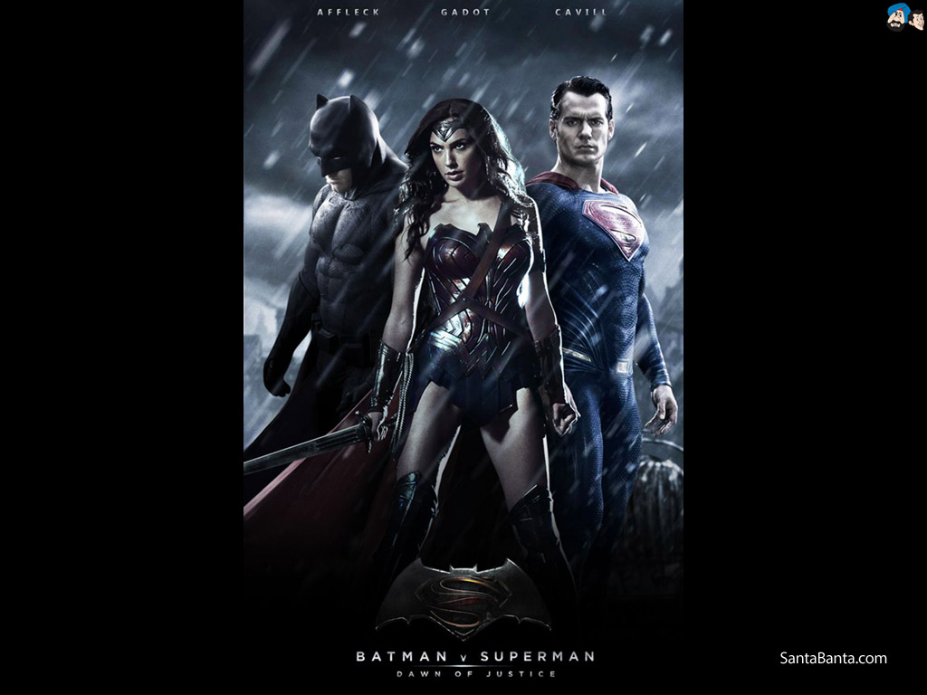 Batman vs Superman Dawn of Justice Movie Wallpaper 5 1024x768