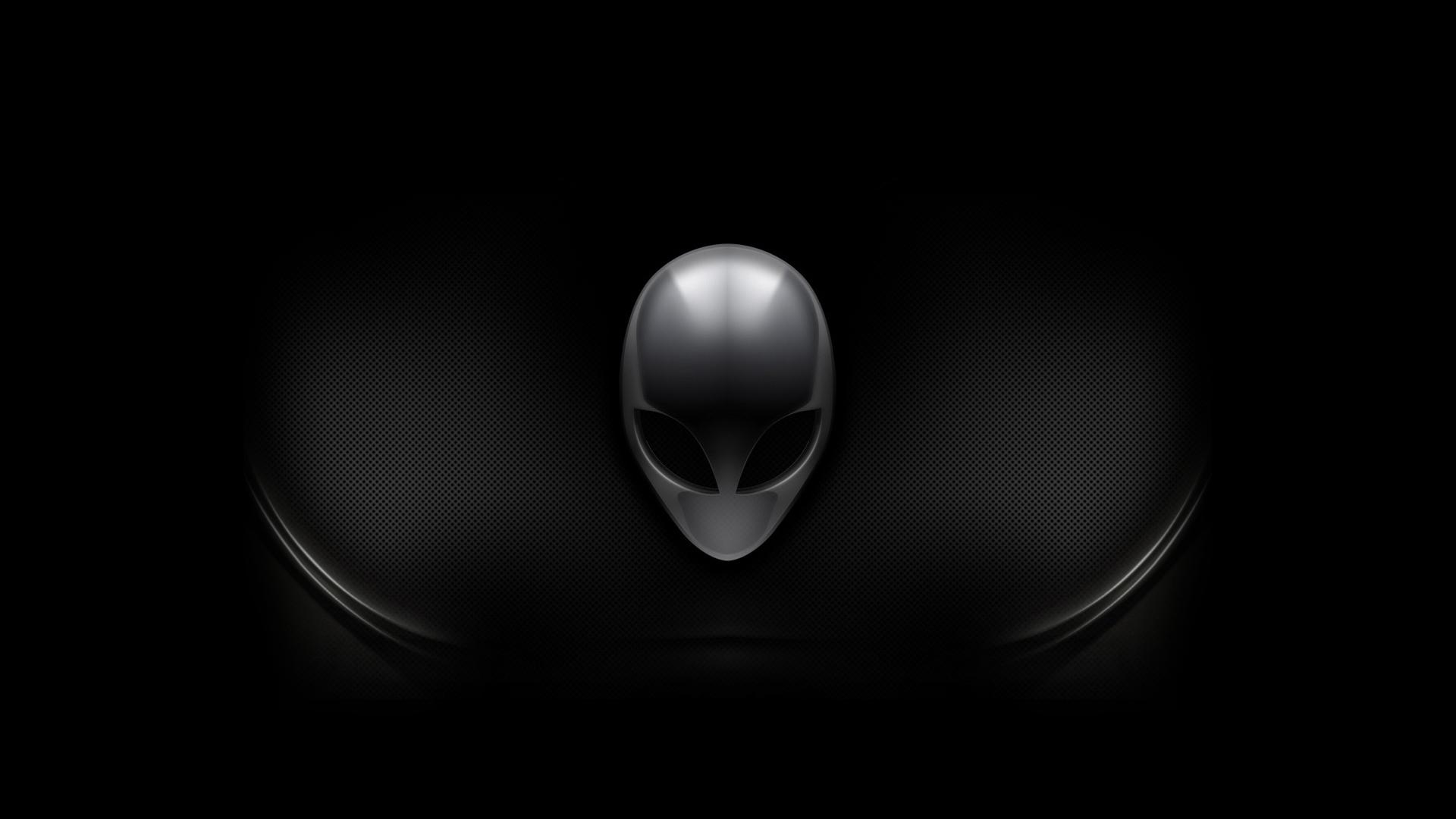 alienware dark logo hd 1920x1080 1080p wallpaper compatible for 1920x1080