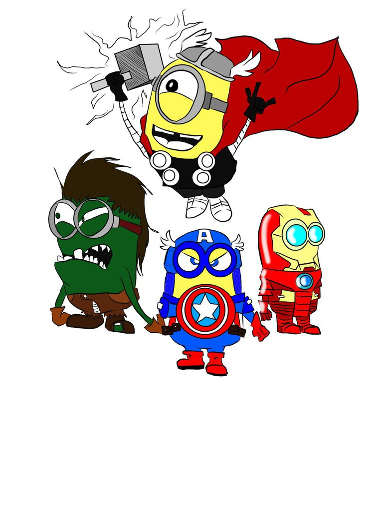 Minions as Avengers Free Wallpaper - WallpaperSafari
