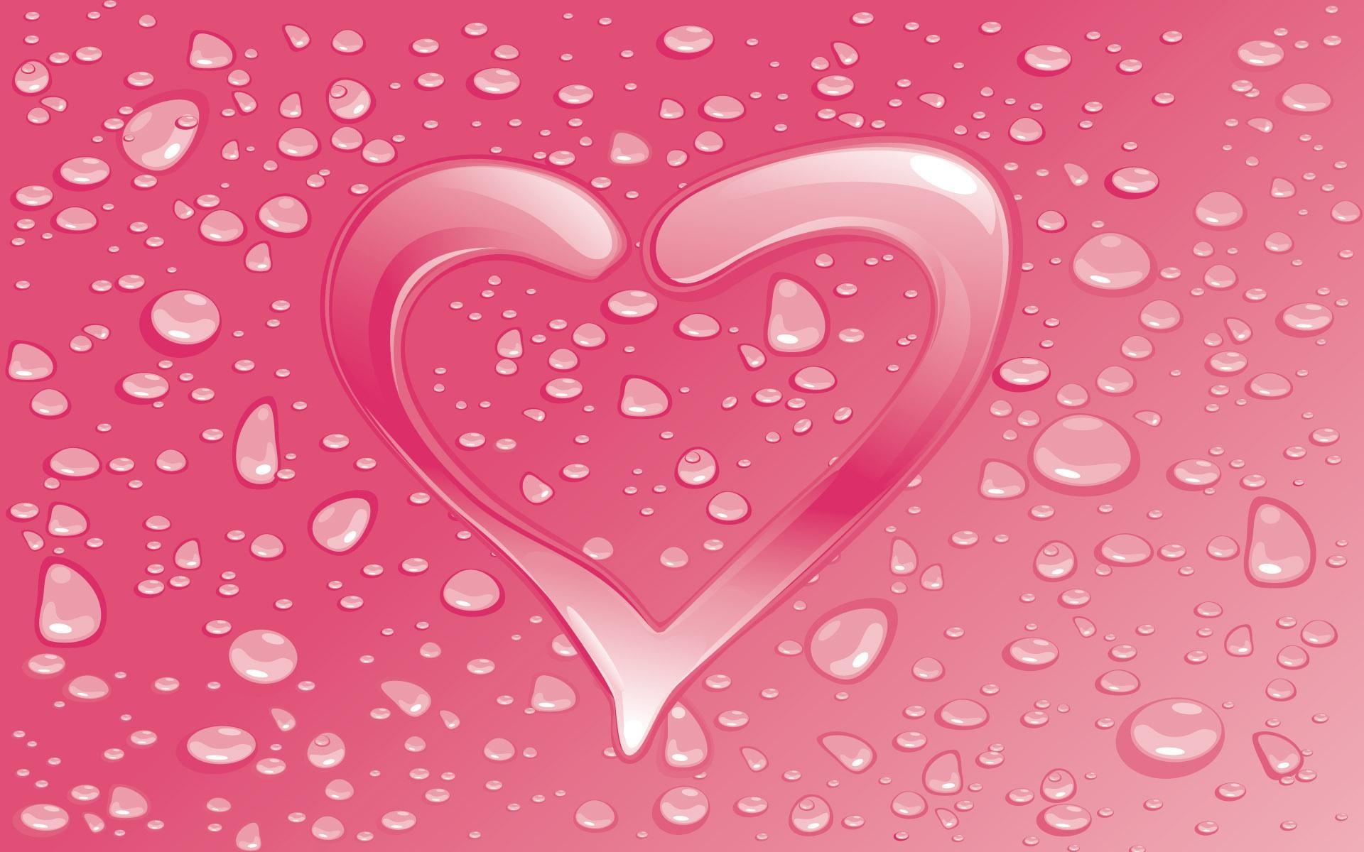 Valentines Day Pink background wallpaper Valentines Day Pink 1920x1200