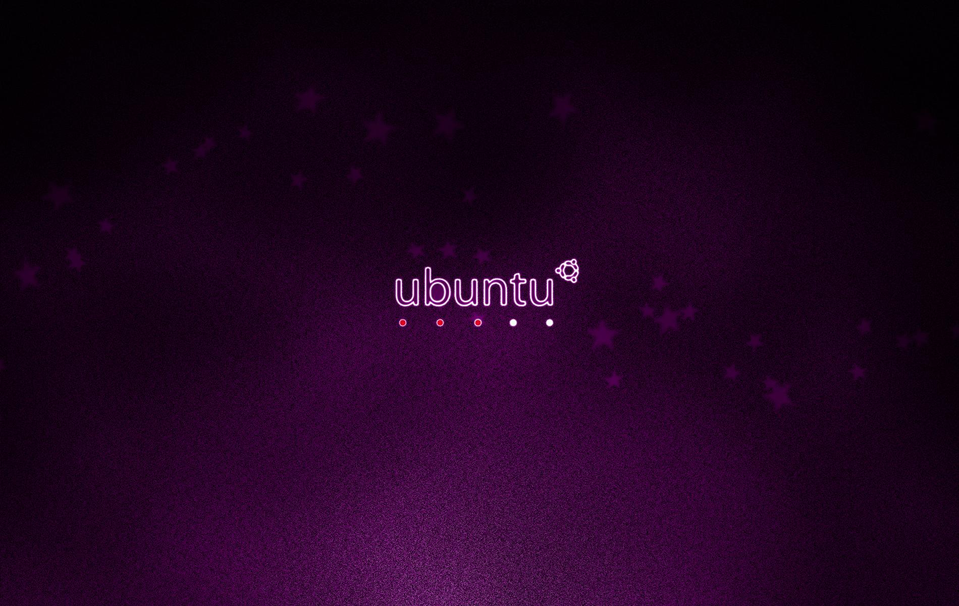 Wallpapers   Ubuntu Minimal Wallpaper Dark Version wallpaper 1900x1200