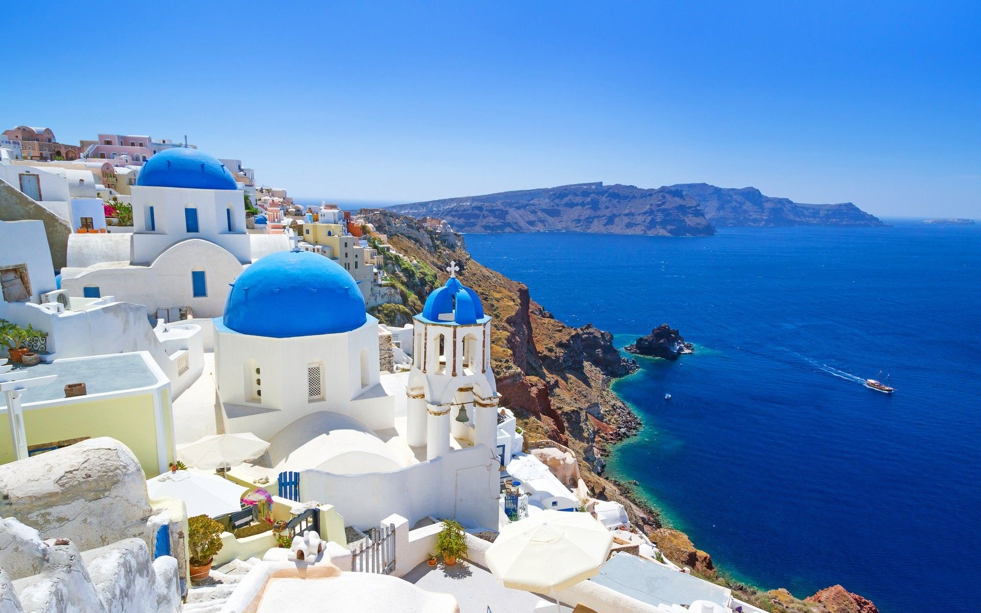 Greece Landscape Wallpapers   Top Greece Landscape 1920x1200