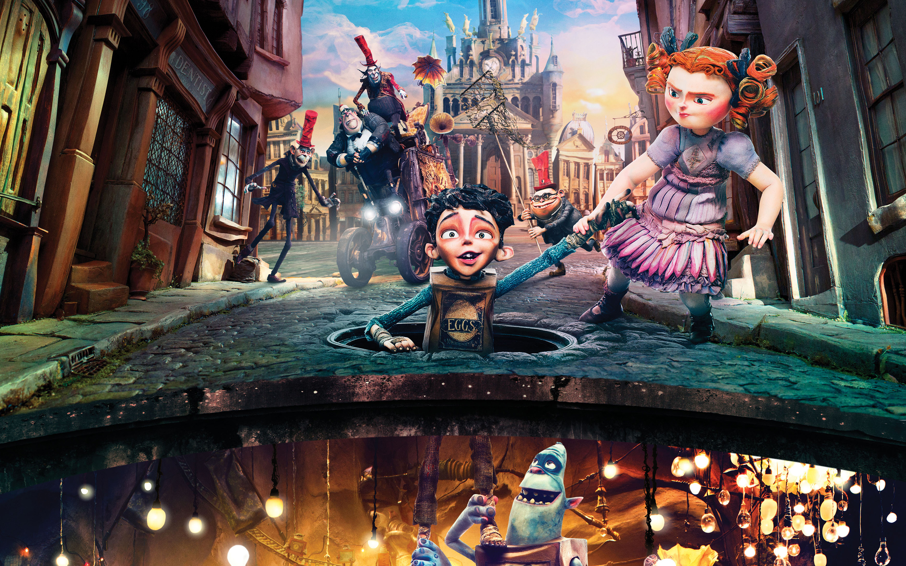 boxtrolls 4K wallpapers for your desktop or mobile screen and 2880x1800