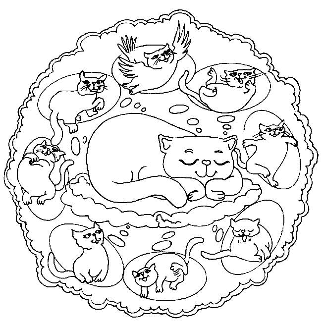 Mandala Coloring Pages Coloring Pages For Kids Coloring 652x662