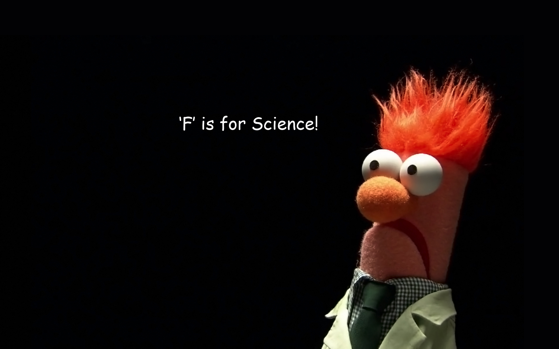 desktop background to help you through F is for Science 1920x1200