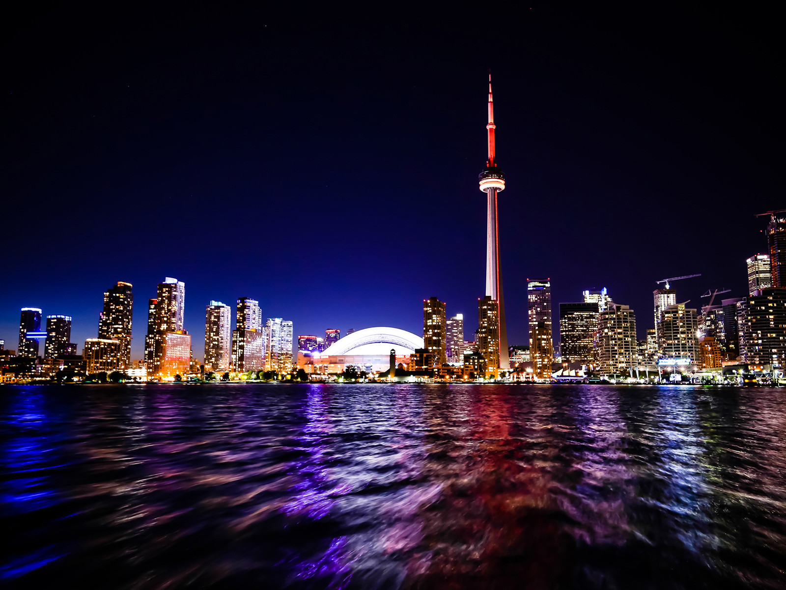 Toronto Nightscape Wallpaper DESKTOP BACKGROUNDS Best Wallpapers 1600x1200