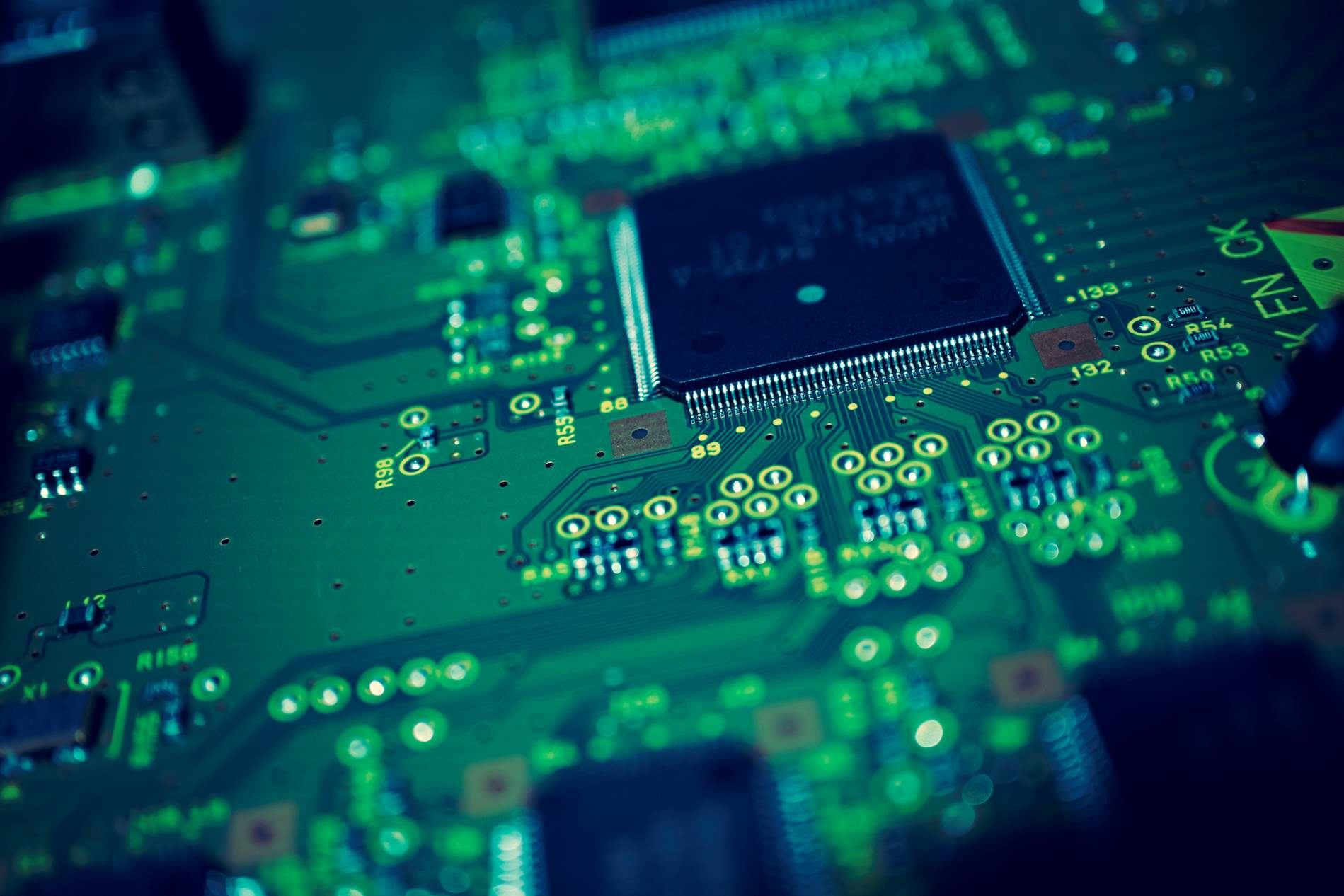 Electronic Circuit Motherboard Cpu Background   PhotoHDX 1597x1065