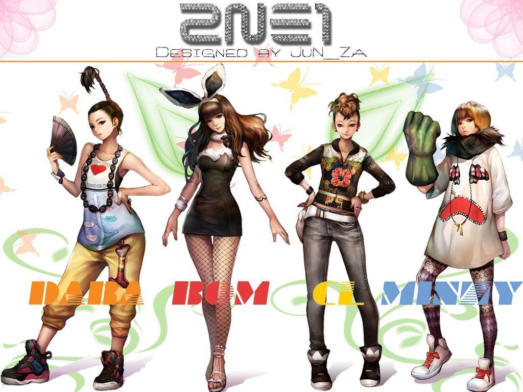 2NE1 Logo Wallpapers 2015 1024x768