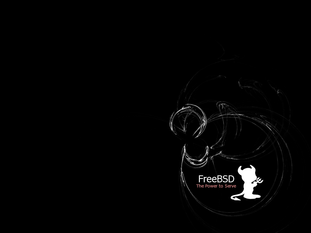 FreeBSD The Power to Serve by HashBox on deviantART 1024x768