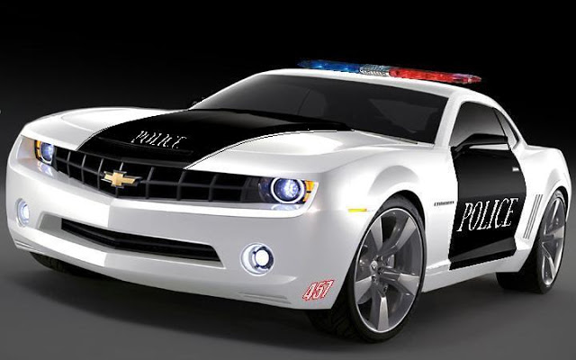 Auto Cars Wallpapers camaro Police Wallpaper 640x400