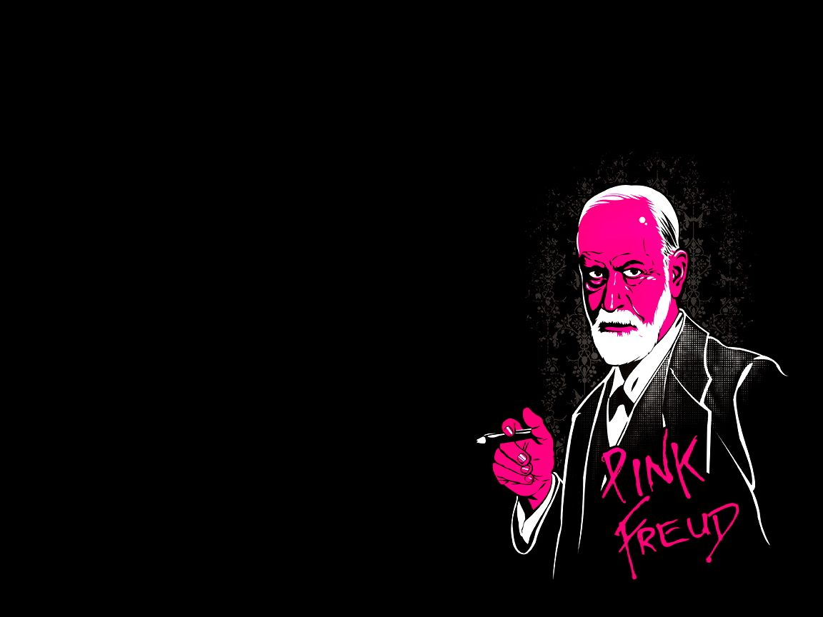 Pink Freud  this makes me laugh Art and stuff Pink Pink 1152x864