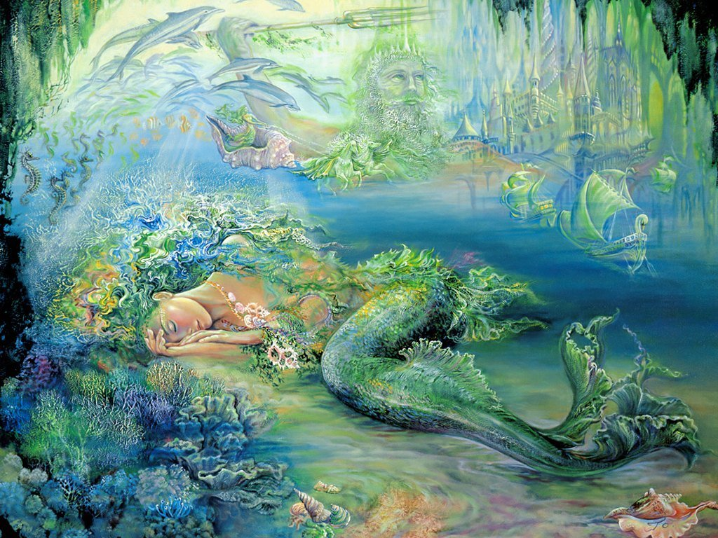 Paintings of Josephine Wall 1024x768 NO11 Desktop Wallpaper   Wallcoo 1024x768