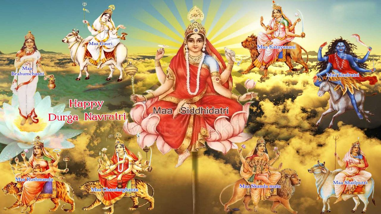 Maa durga Wallpapers Collection Page   2 MrPopat 1280x720