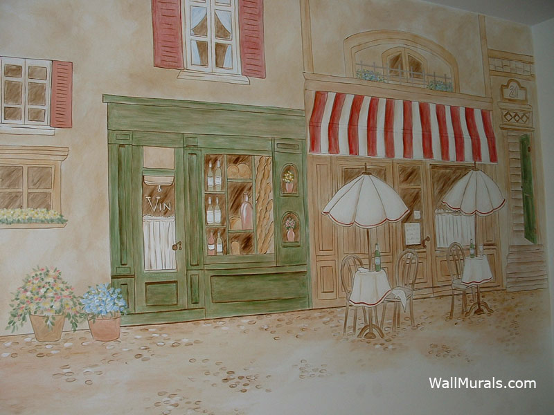 french cafe kitchen wall mural kitchen wall mural french cafe 800x600
