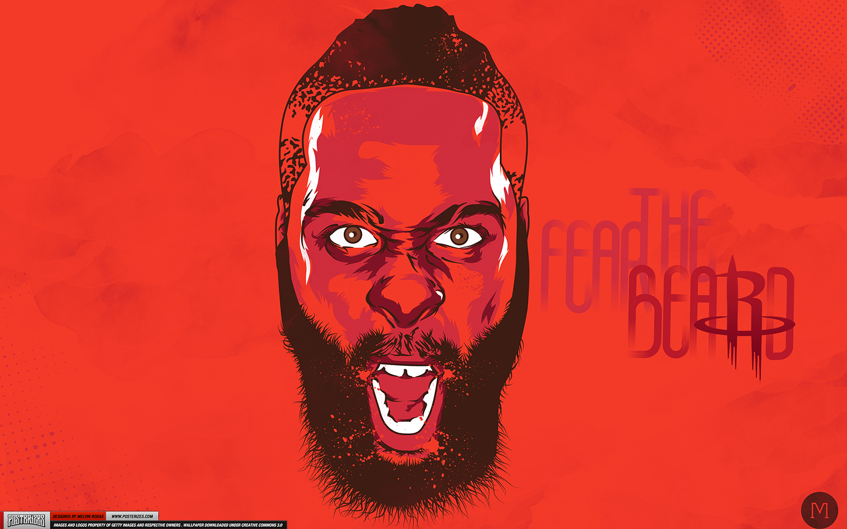 James Harden Houston Rockets Wallpaper Posterizes NBA Wallpapers 1680x1050